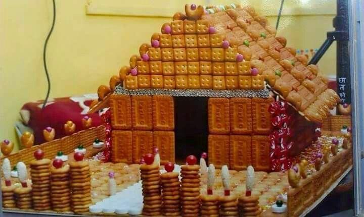 Biscuit decoration | home decoration