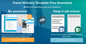 Useful Travel Itinerary Templates That Are  Free  Travel