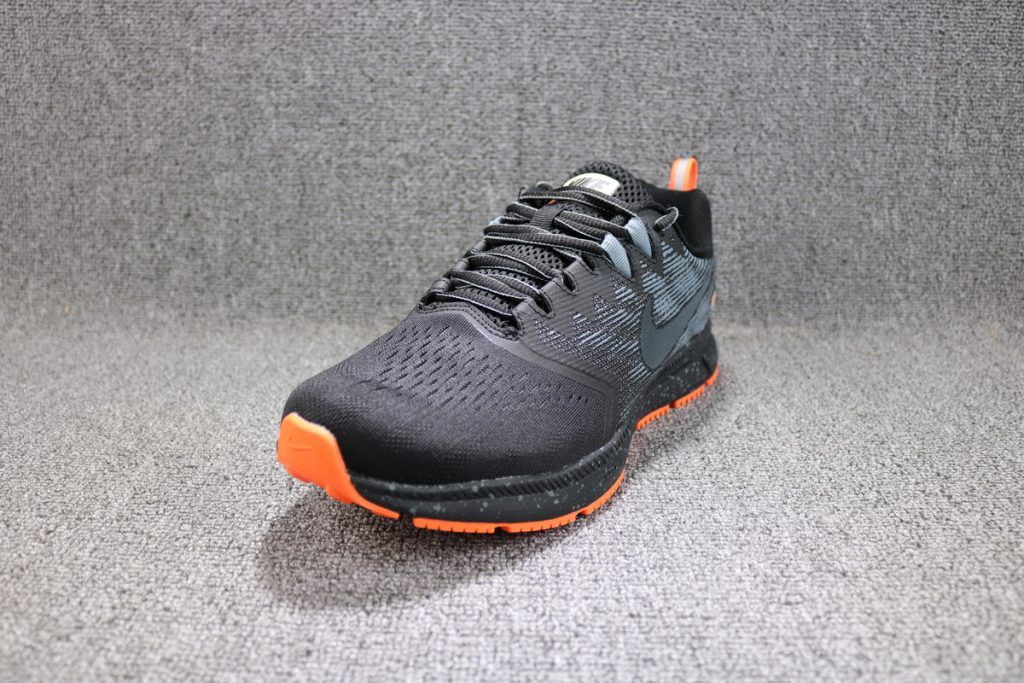sports shoes 51668 dc40d Nike Air Zoom Span 2 Shield Running Shoe – black anthracite cool grey
