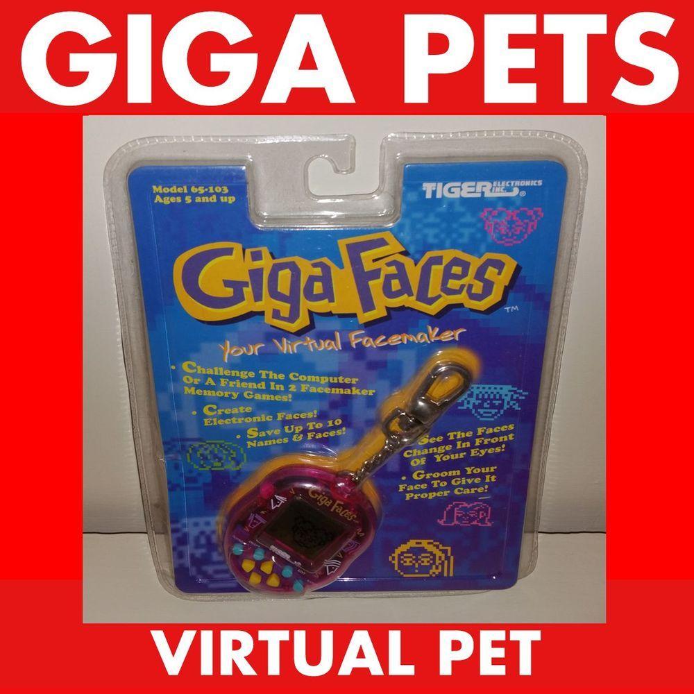 Adopt Me Giga Pet Giga Faces Virtual Nano Pet Furby Tamagotchi
