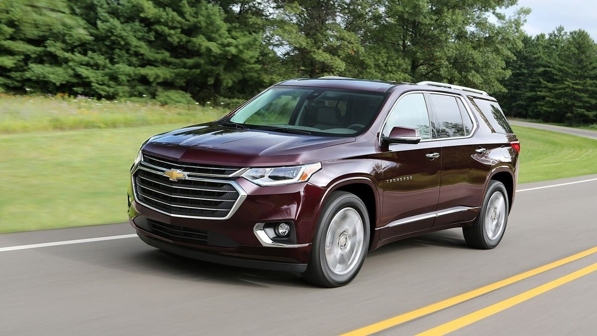 2019 Chevrolet Traverse Colors New Release | Chevrolet ...