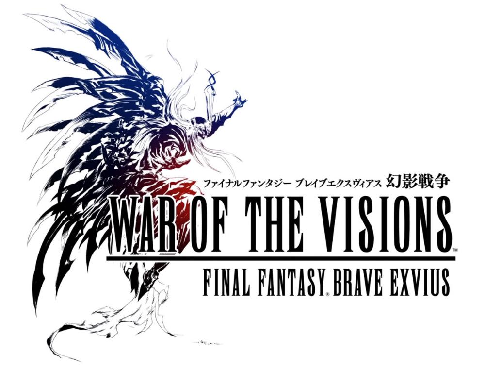 Game Logo War Of The Visions Final Fantasy Brave Exvius Art Gallery Final Fantasy Logo Final Fantasy Fantasy
