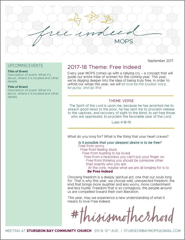 Mops free indeed newsletter layout in an easily editable word mops free indeed newsletter layout in an easily editable word doc spiritdancerdesigns Images