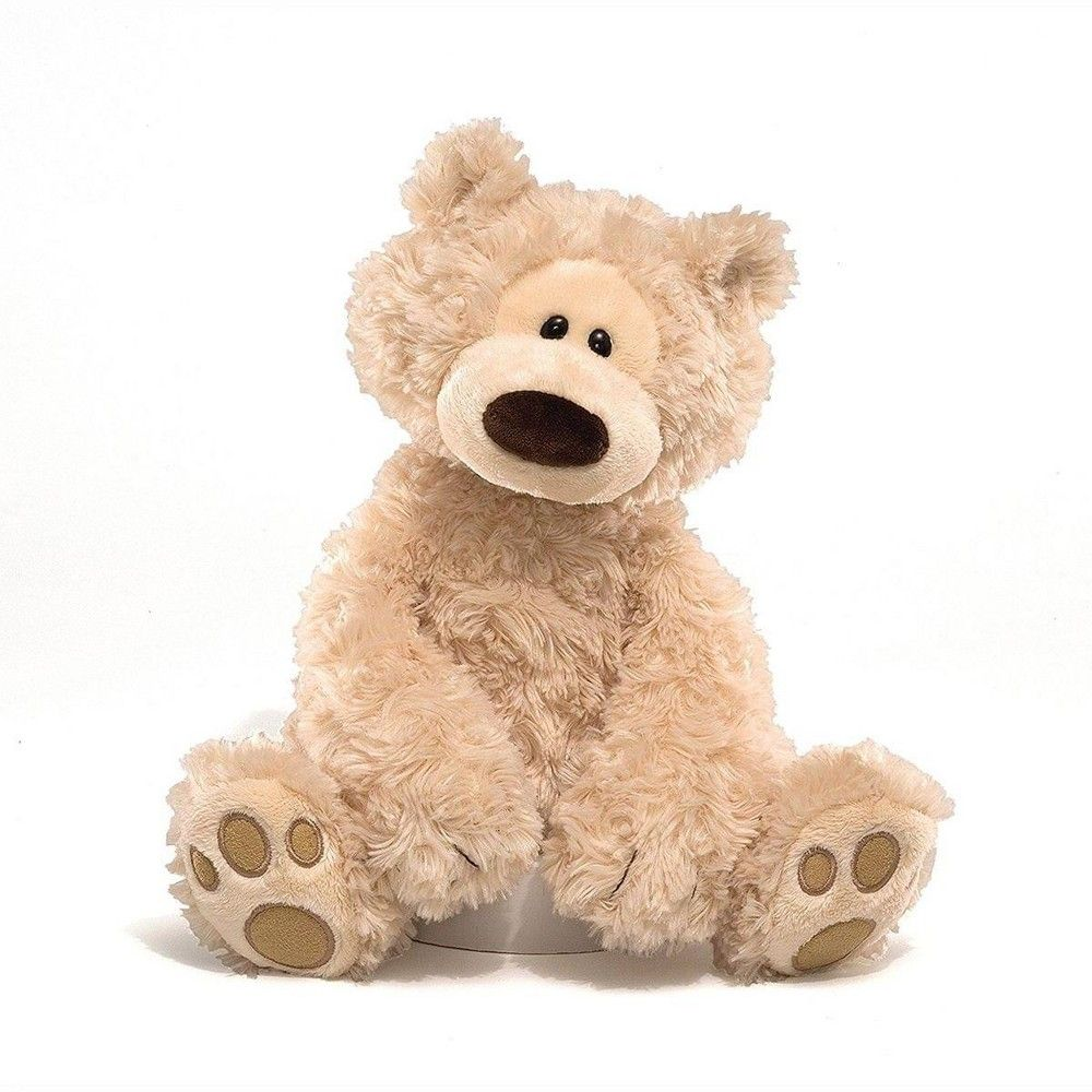 Enesco Philbin Teddy Bear 12 Inch Plush Toy Beige In 2021 Bear Stuffed Animal Cream Teddy Bear Teddy Bear Stuffed Animal