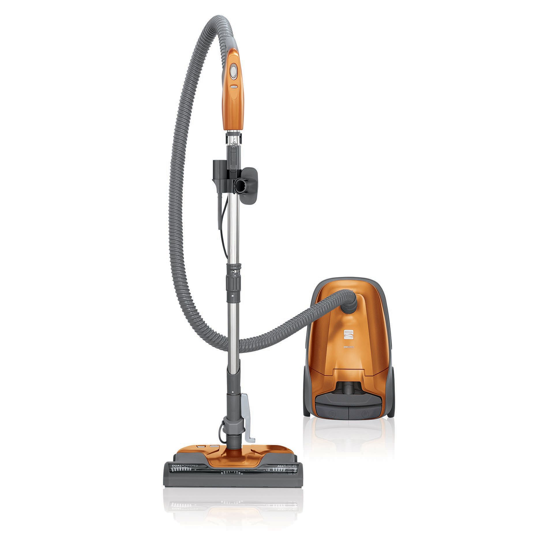Kenmore 81214 200 Series Bagged Canister Vacuum Orange In 2020 Canister Vacuum Canister Vacuum Cleaner Vacuum Cleaner