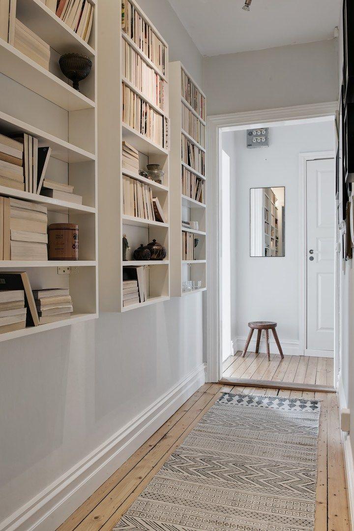 Dormitorio para hacer hygge pasillos estanter as y pisos for Decoracion pisos romanticos