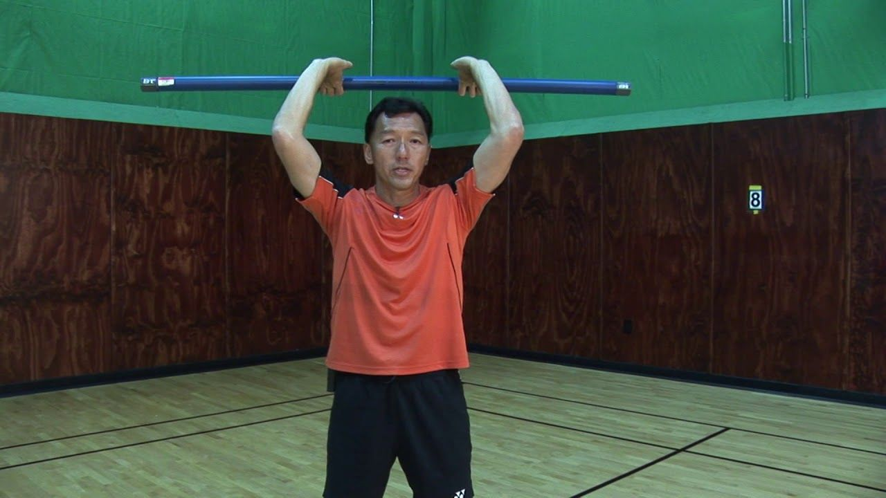 Badminton Tips Weight Training Exercises Part 1 Coach Andy Chong Badminton Tips Badminton Weight Training Workouts