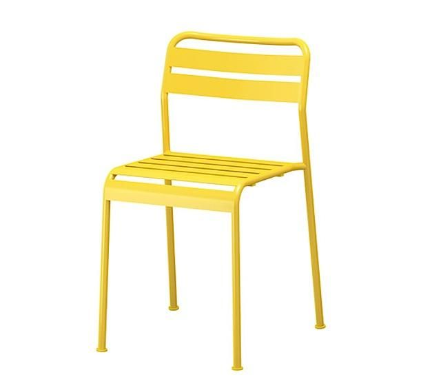 Astounding 10 Easy Pieces Colorful Outdoor Dining Chairs Home Machost Co Dining Chair Design Ideas Machostcouk