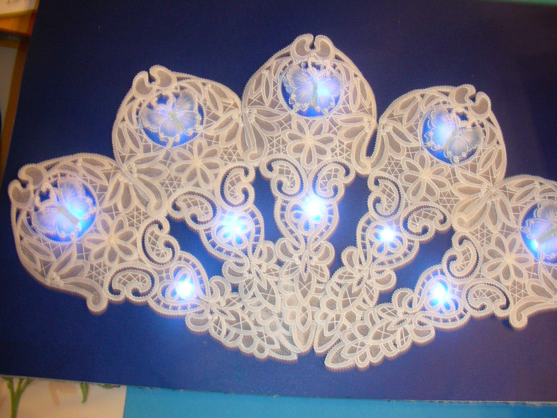 autre éventail lumineux, réalisation mamieperga