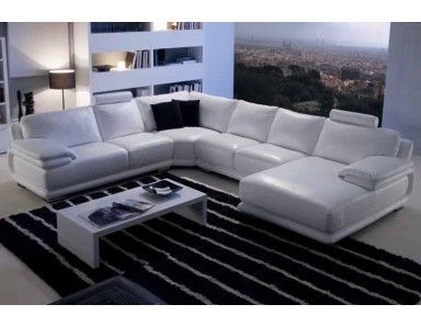 Salotti Chateau Dax.Chateau Dax Atlantic Leather Sectional Leather Sectional