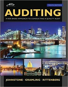 Auditing A Risk Based Approach To Conducting A Quality Audit 10th