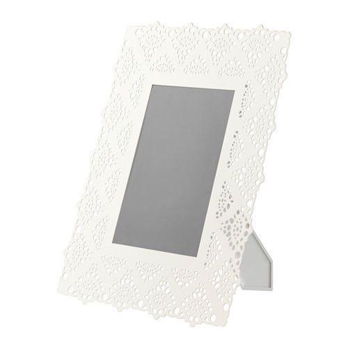 Ikea Fotorahmen ikea skurar rahmen weiß 13x18cm bilderrahmen fotorahmen hochzeit