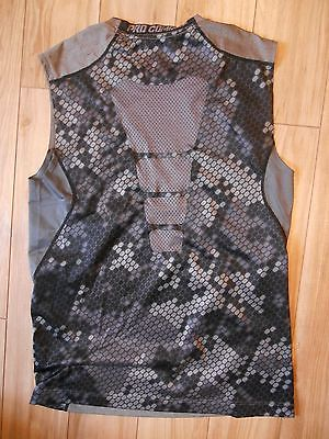 7cc3ac1560b97b Nike Pro Combat Men s s Fitted Dri Fit Sleeveless Compression Workout Top  Shirt
