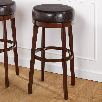 Target Marketing Systems 30 in. Avenue Swivel Bar Stool - 70030BWN