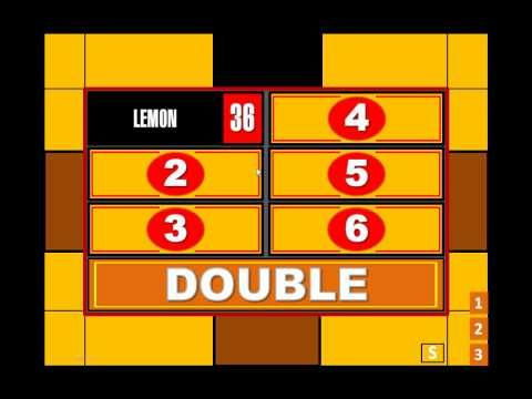 My Family Feud Powerpoint Game Ppt2007 Only Family Feud Game Powerpoint Template Free Family Feud Free family feud template