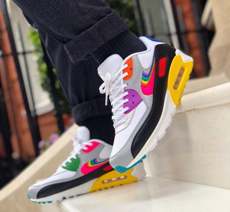 Faut acheter la Nike Air Max 90 Betrue Multicolor Swoosh