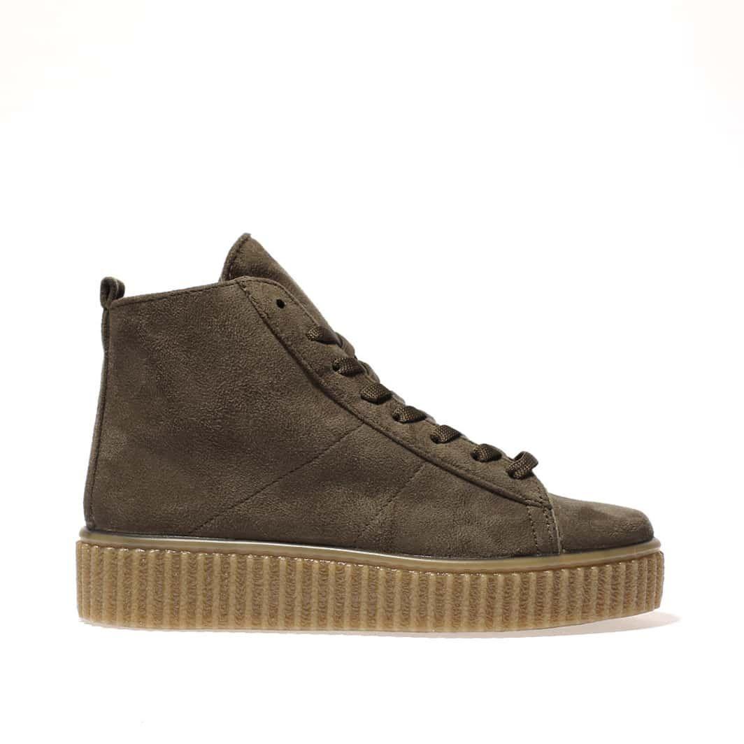 womens khaki schuh runaround boots | schuh
