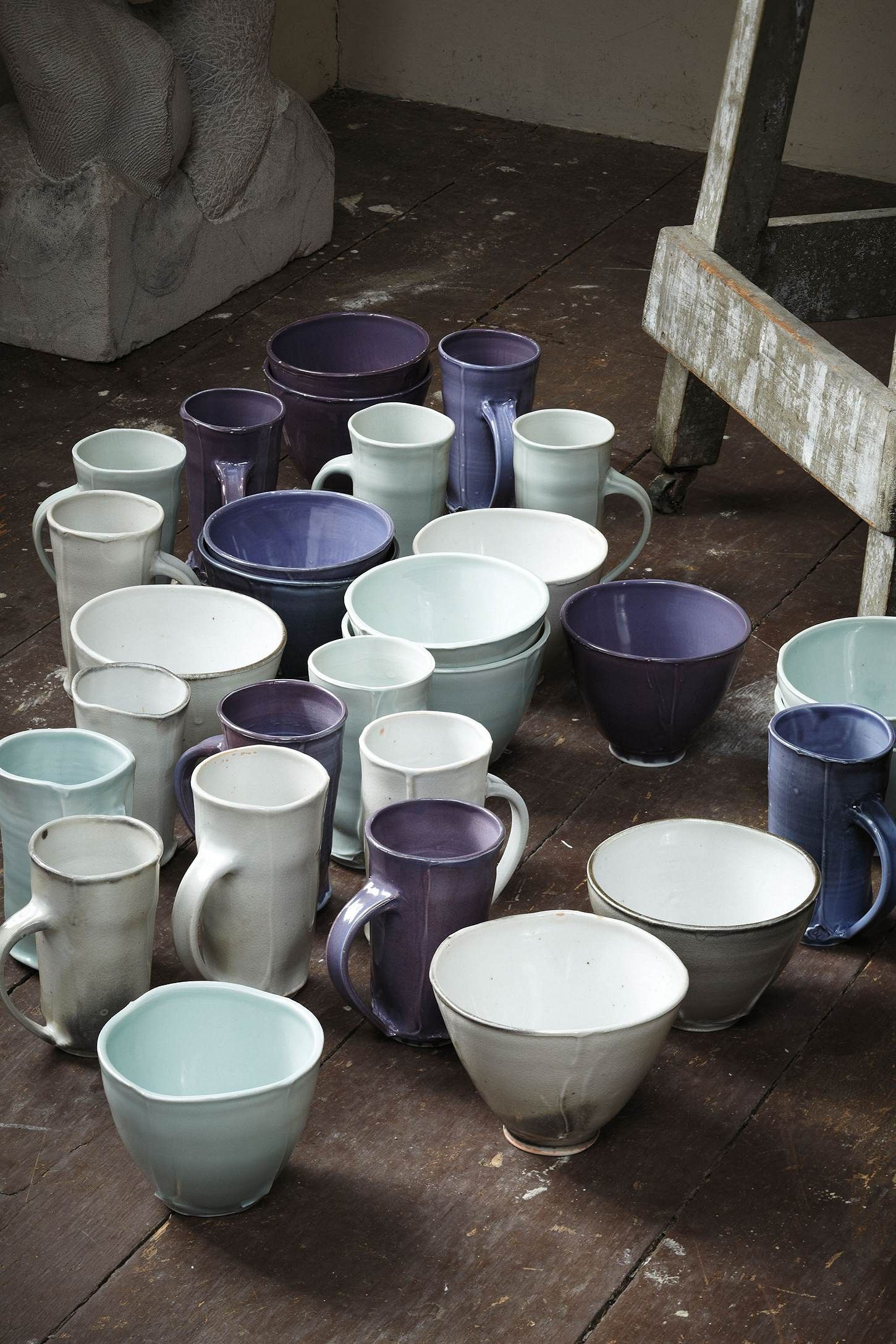 Pinched Corners Mugs from Anthropologie