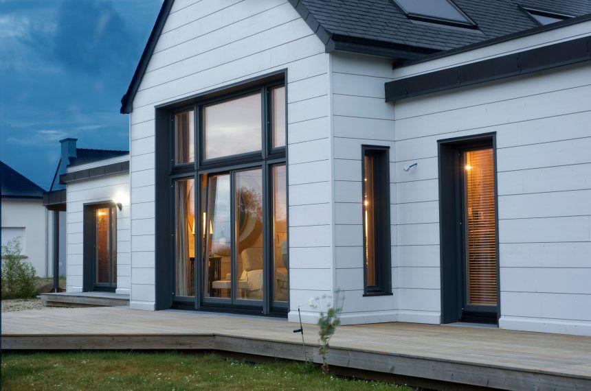 Inspiration For A Modern Log House Honka Scandinavian Modern House House Designs Exterior House Exterior
