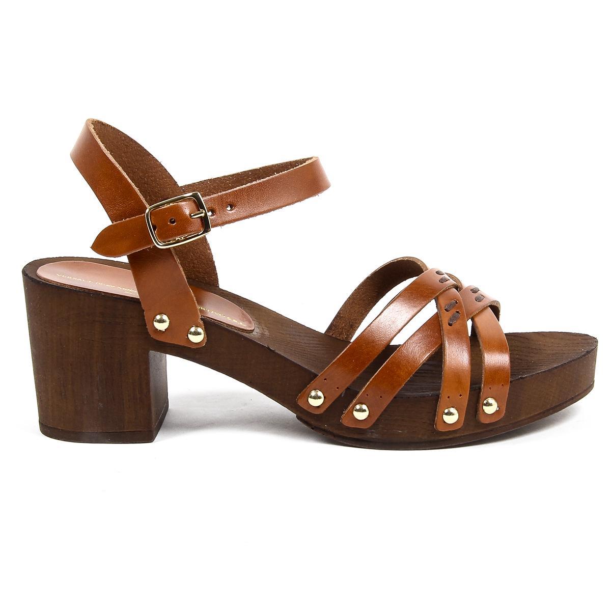 V 1969 Italia Womens Ankle Strap Sandal