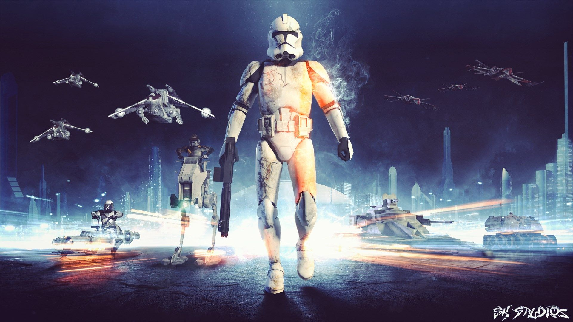 free desktop wallpaper downloads star wars battlefront (amanda
