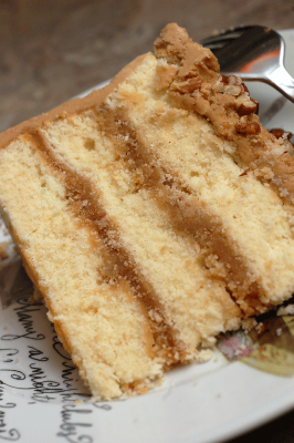 Paula Deen - Caramel Cake