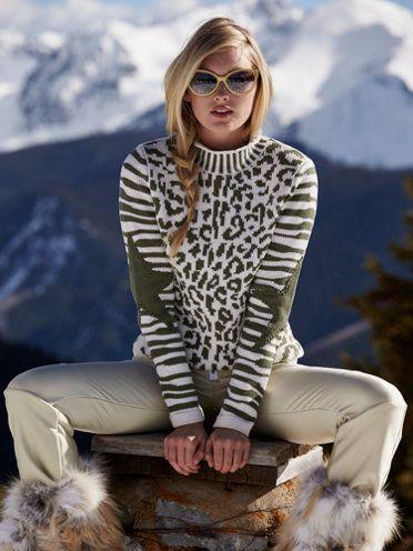 5c87b3f7 snocat military leopard sweater - jet set - designers - Gorsuch ...
