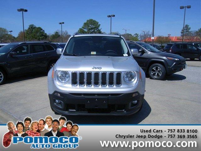 2015 Jeep Renegade Limited Newport News Va Vin Jeep Renegade Jeep New Dodge
