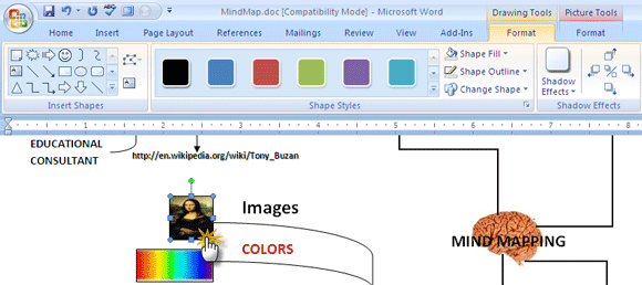 How to build a mind map in microsoft word microsoft word and how to build a mind map in microsoft word ccuart Images