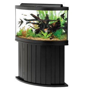 Aqueon 54 Gallon Aquarium Ensemble Corner Aquarium Fish Tank