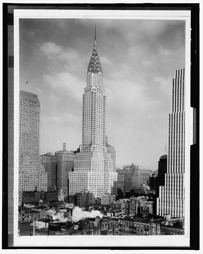 16 x 20 Gallery Wrapped Frame Art Canvas Print of Chrysler Building ...