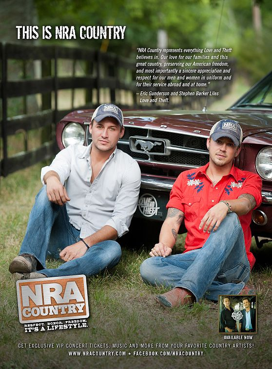 NRA Country artist Love and Theft