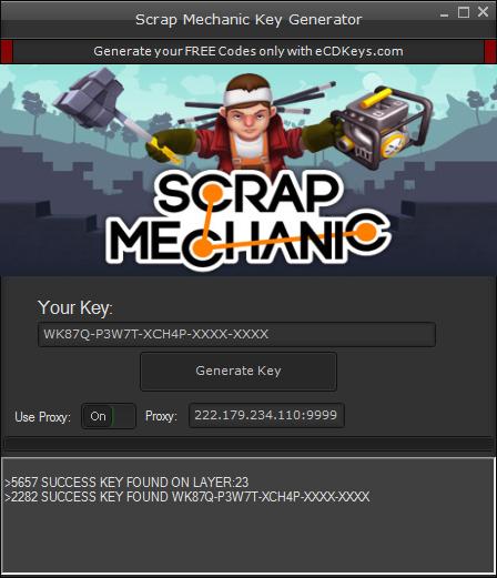 Scrap Mechanic CD-Key download hack full  Free Scrap