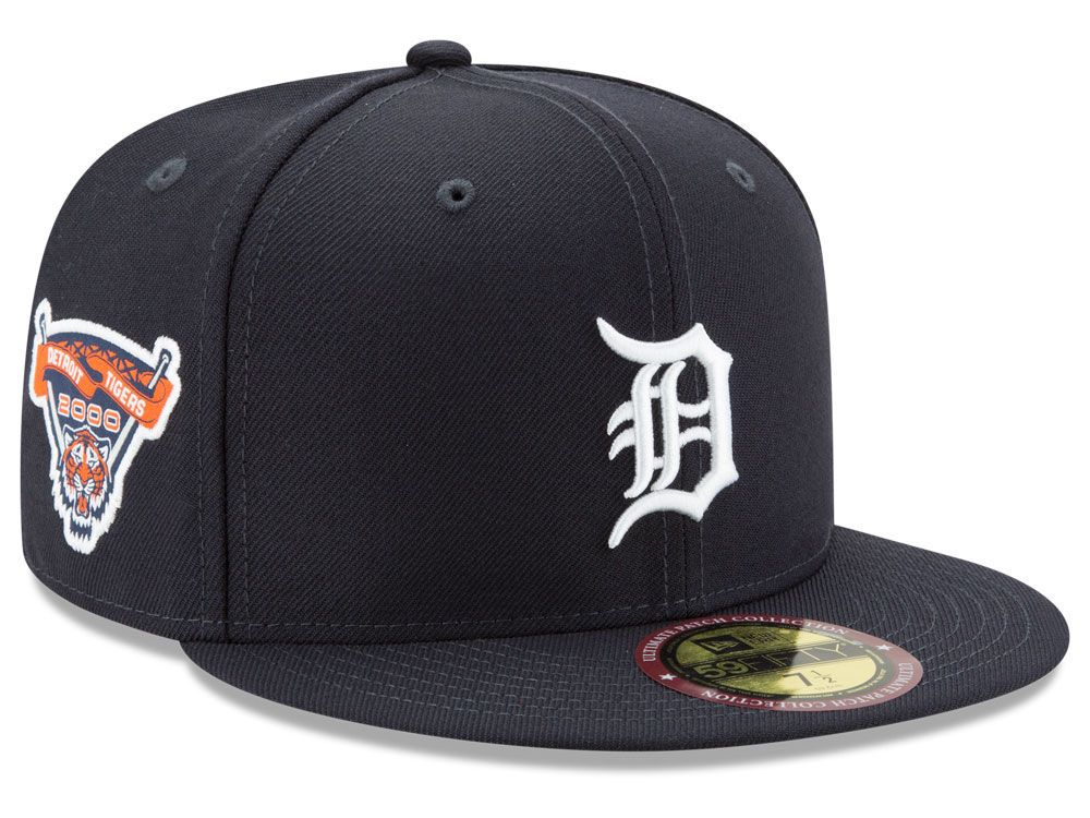 Detroit tigers new era mlb ultimate patch collection game