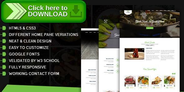 Free nulled Food Cafe, Restaurant, Hotel, Food, Restaurant Site - free reservation forms