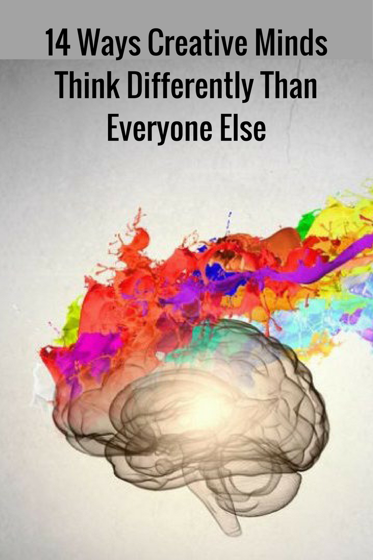 14 ways creative minds think differently than everyone else 14 ways creative minds think differently than everyone else psychology related posts pinterest psychology creativity quotes and psychology facts thecheapjerseys Gallery