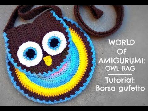 Bolsa para Niña Tejida a Crochet!! SUuUuPer Divertida!!-Video #1 ...
