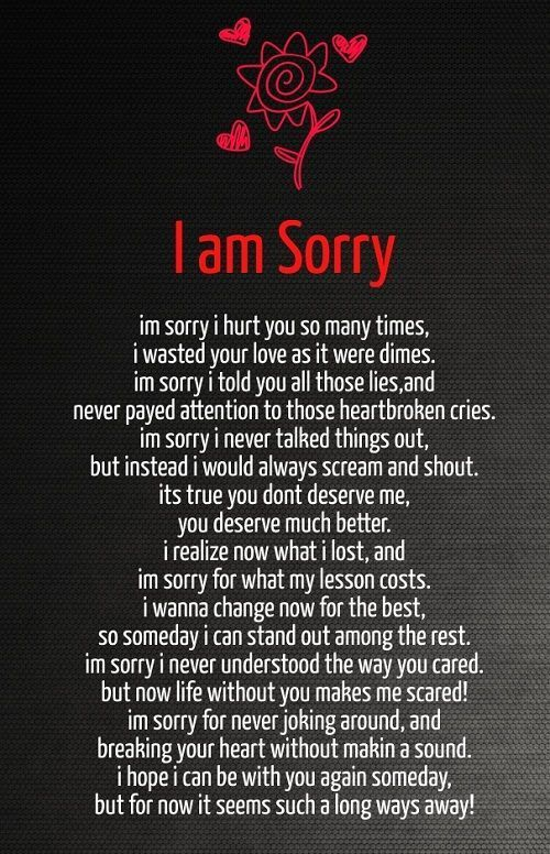 Sorry Quotes For Her Love Quotes For Her I Am Sorry Love Quotes For Her  Romantic
