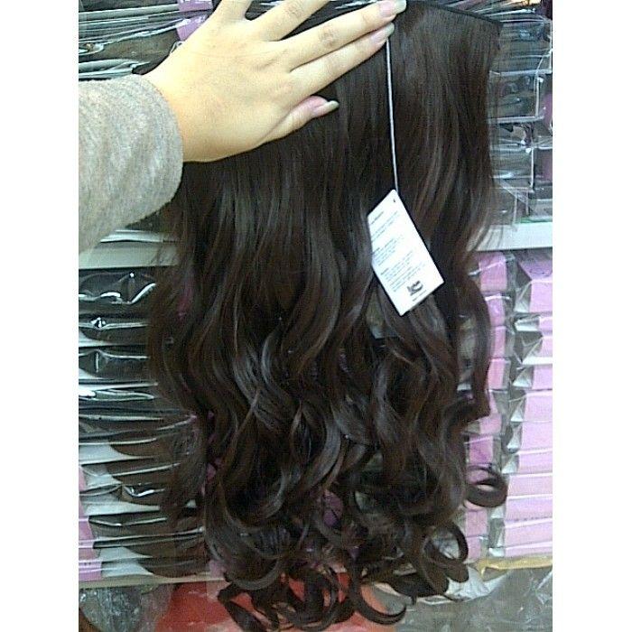 Hairclip Big Layer Curly Fashion