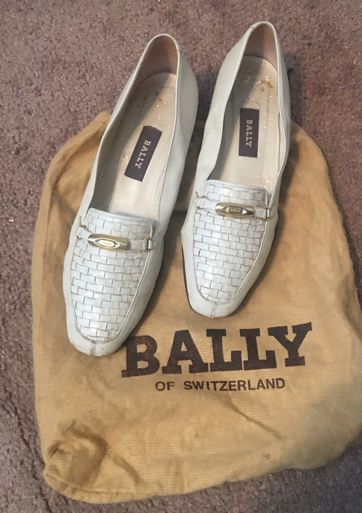 ", BALLY Italy VANESSA <a href=""http://7.5m/"">http://7.5m/</a> woven flats, Anja Rubik Blog, Anja Rubik Blog"