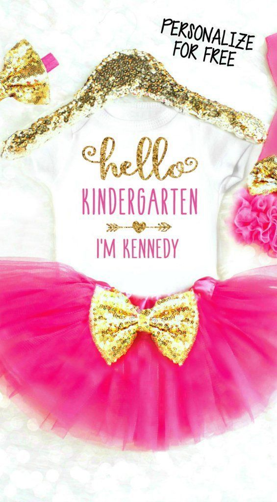 Personalized 1st Day of Kindergarten Shirt - Kindergarten Shirt - Ideas of Kindergarten Shirt #kindergarten #shirts #kindergartenshirts -   Personalized 1st Day of Kindergarten Shirt Hello Kindergarten Shirt Personalized First Day of School Outfits Personalized 1st Day of School Shirts. The first day of school is a VERY big deal! Our first day of school outfits are absolutely adorable and #firstdayofschooloutfits