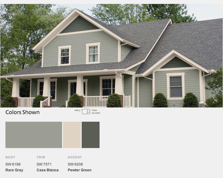 Cape Cod Exterior Ideas Part - 32: Exterior House Colors
