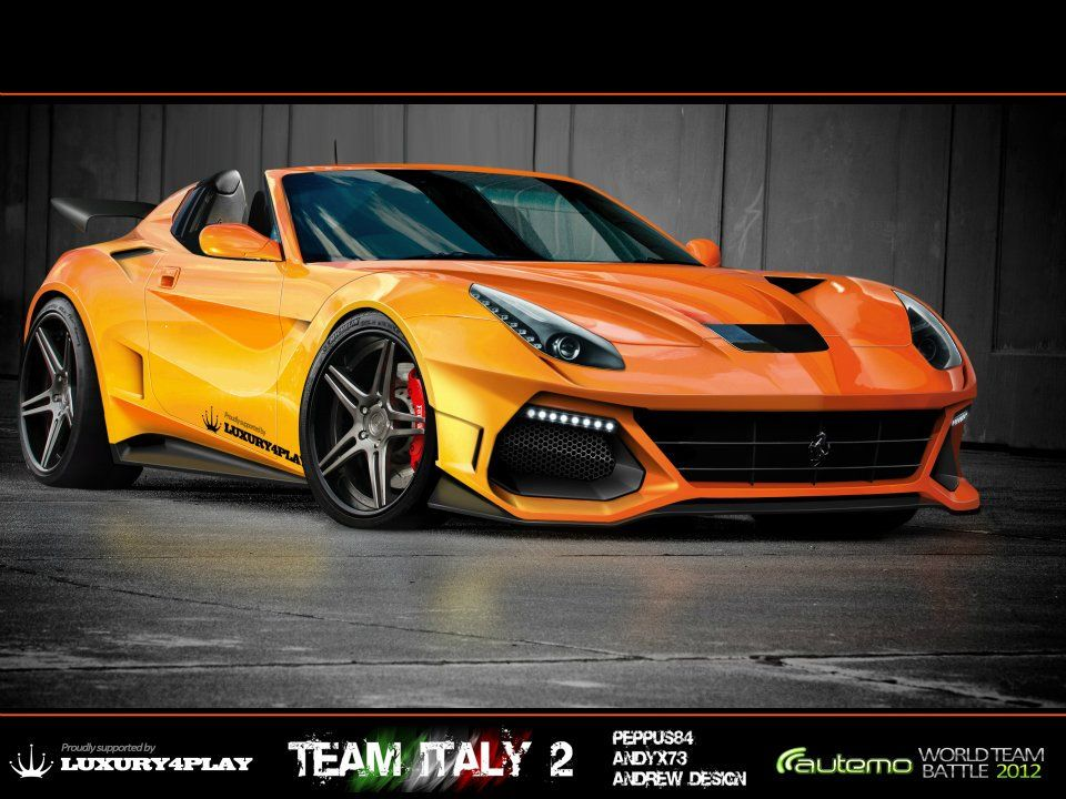 Ferrari F12 Berlinetta Virtual Tuning Competition With Images