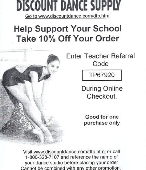 64ed4c785e9fc All About Attitude Dancewear - Discount Dance Supply 10% Off coupon code.