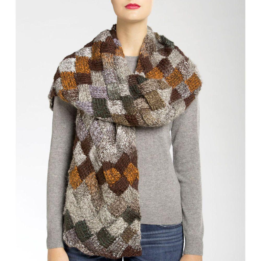 Diy isaac mizrahi craft skyscraper entrelac knit scarf knit diy isaac mizrahi craft skyscraper entrelac knit scarf i so want to learn to knit bankloansurffo Gallery