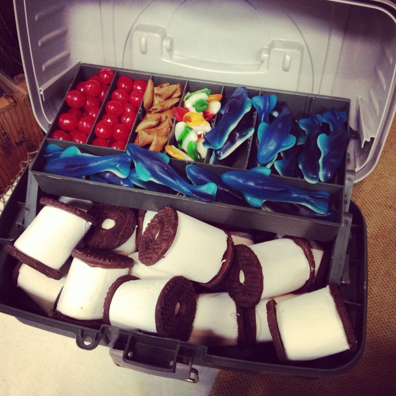 Grooms Wedding Cake Ideas: Grooms Table, Wedding, Fishing Theme