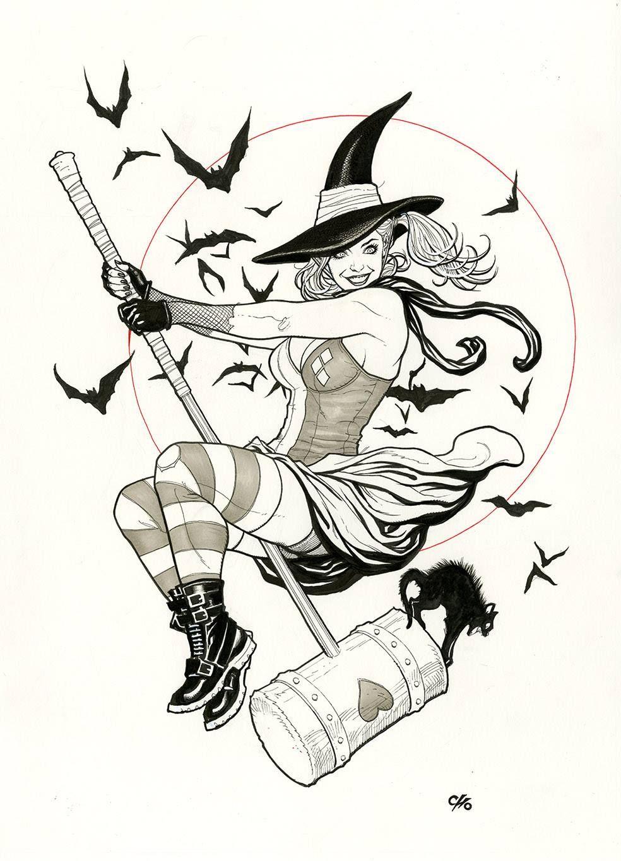 Harley Quinn by Frank Cho | Zeichnungen | Pinterest | Frank cho ...