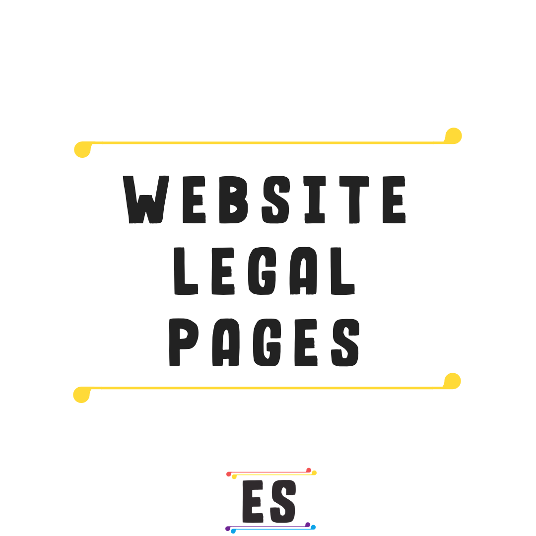 Every Blog And Website Needs Certain Legal Pages, Like A