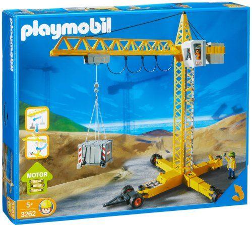 Playmobil Crane, 2004 Parents' Choice Award Approved Award - Toys #Toy