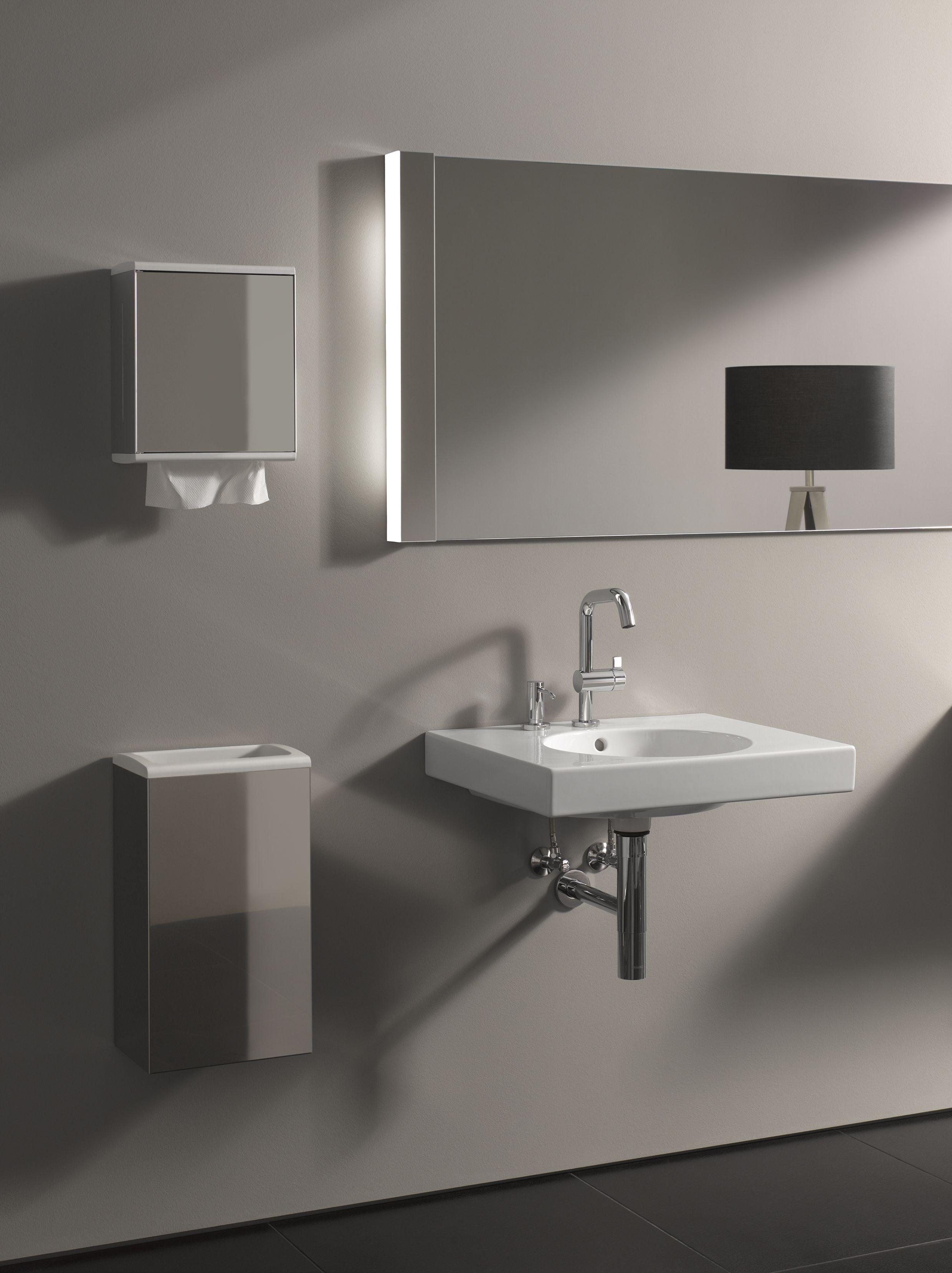 Keuco Plan Blue Bathroomfurniture Architecture Design Spiegelschrank Waschtisch Badezimmer
